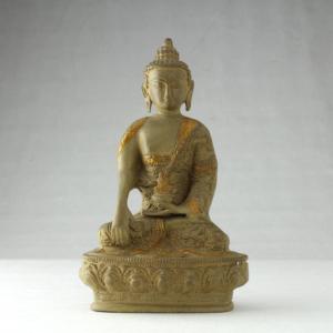 Buddha medicina in bronzo