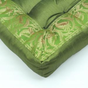 Cuscino quadrato verde 40 cm