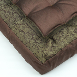 Cuscino quadrato cioccolato 40 cm