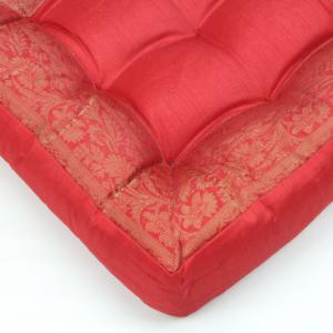 Cuscino quadrato rosso 40 cm
