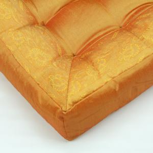 Cuscino quadrato arancio 40 cm