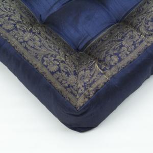 Cuscino quadrato blu scuro 40 cm