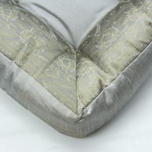 Cuscino quadrato grigio 40 cm