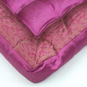 Cuscino quadrato fucsia 40 cm